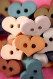 Heart Buttons Stock Images