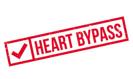 Heart Bypass rubber stamp Royalty Free Stock Images