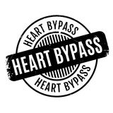Heart Bypass rubber stamp Royalty Free Stock Photography
