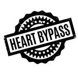 Heart Bypass rubber stamp Stock Images