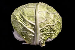 A heart of cabbage Royalty Free Stock Photos