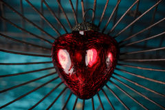 Heart in Cage Royalty Free Stock Images