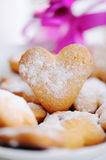 Heart cake. Valentine gift and love Stock Photo