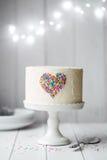Heart cake Royalty Free Stock Photos