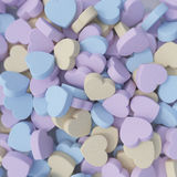 Heart Candies Royalty Free Stock Images