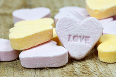 Heart candies Stock Photography