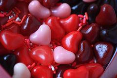 Heart candies for Valentines Stock Photography