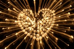 Heart candlestick2 Royalty Free Stock Photography