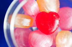 Heart candy Royalty Free Stock Photography
