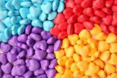 Heart candy Stock Images