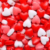 Heart Candy background. Stock Images