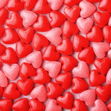 Heart Candy background. Stock Photo