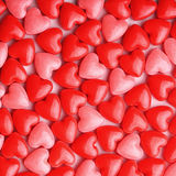 Heart Candy background Royalty Free Stock Photos