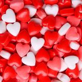 Heart Candy background Stock Photo