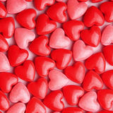 Heart Candy background Stock Image