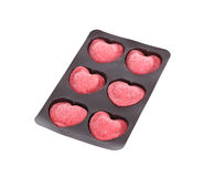 Heart candy isolated on white background Stock Image