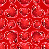Heart Candy Pattern. Vector Illustration Stock Images