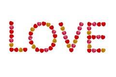 Heart candy take photo macro Royalty Free Stock Photo