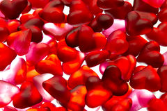 Heart candy wallpaper Royalty Free Stock Image