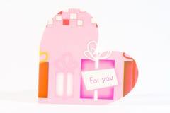 Heart card Royalty Free Stock Photo