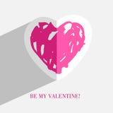 Heart card Royalty Free Stock Photos