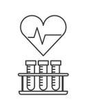 Heart cardio icon Stock Image