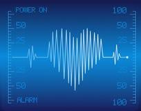 Heart cardio vector Stock Photography