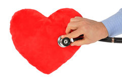 Heart Care Royalty Free Stock Photography