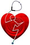 Heart care stock illustration