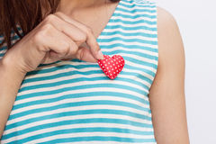 Heart Care Royalty Free Stock Photos