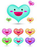 Heart cartoon Royalty Free Stock Photography