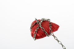 Heart in Chain Stock Photography