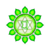 The Heart Chakra Royalty Free Stock Images