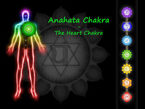 The Heart Chakra Stock Photo