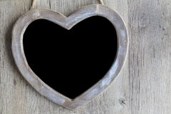 Heart Chalkboard Royalty Free Stock Images