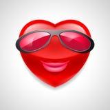 Heart character Stock Image
