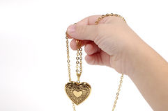 Heart Charm royalty free stock image