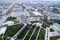 The Heart of Chechnya stock images