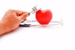 Heart checkup Royalty Free Stock Photos