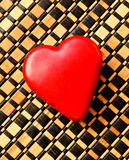 Heart cheese Stock Image