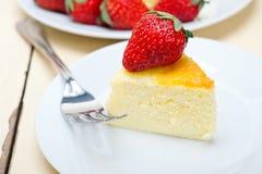 Heart cheesecake Stock Photo
