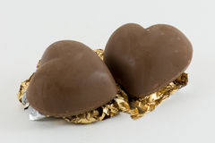 Heart Chocolate Royalty Free Stock Photography