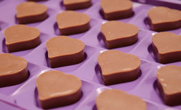 heart chocolate Royalty Free Stock Images