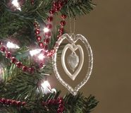 The heart of Christmas Royalty Free Stock Image