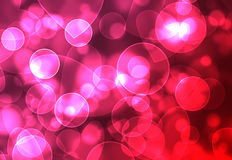 Heart and circle background Stock Photo