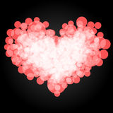 The heart of the circle. Vector. 5. Vector Royalty Free Stock Photos