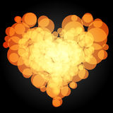 The heart of the circle. Vector. 3. Vector Royalty Free Stock Image
