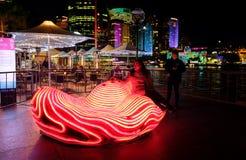 Heart of the City Vivid Sydney Stock Photography