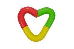 Heart clay Stock Photo