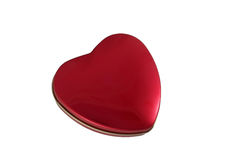 Heart with clipping path Stock Photography